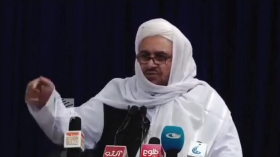 Taliban Education Minister's decree, PhD and master's degree will not be valid, government will run according to Sharia