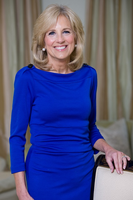 For the first time, America's First Lady left the White House for work, then Jill Biden came in the role of teacher