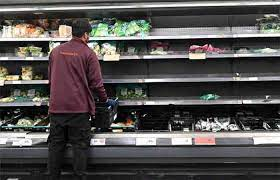 'No milk, no water', acute shortage of essential goods in London's grocery stores