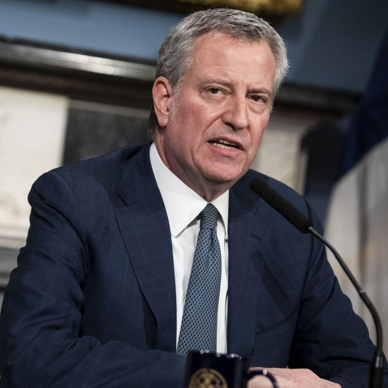 Mayor Bill de Blasio declares emergency in New York City, tells people not to leave their homes