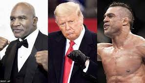 Former US President Donald Trump will comment on boxing